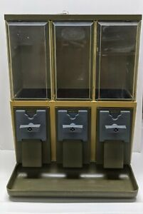 Vendstar 3000 Used Candy Vending Machine Dispensers With Locks Keys