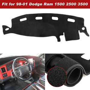 Dashmat Dash Cover Dashboard Mat Carpet For Dodge Ram 1500 2500 3500 1998 2001