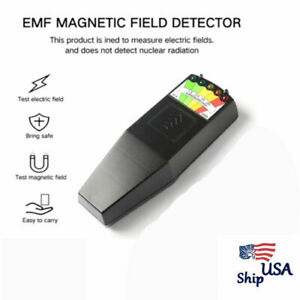 Emf Meter Magnetic Field Detector Ghost Hunting Paranormal Equipment