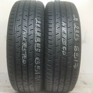 2 Tires 235 65 17 Continental Crosscontact Lx 9 50 32 Tread 103t