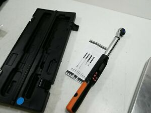 3 8 Inch Digital Torque Wrench 5 99 6 Ft Lbs Torque Range Accurate To