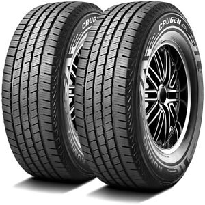 2 New Kumho Crugen Ht51 255 70r16 111t A S All Season Tires