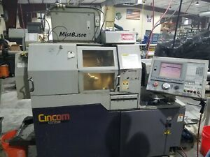 3 4 1999 Citizen L20vii Cnc Swiss C axis Live Tool Sub Spindle Lns Bar Feed