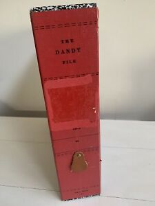 Vintage The Dandy File Made By Hedges Organizer With Dividers