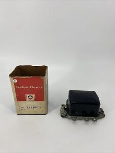 Delco Remy 1118973 1949 51 Gmc Truck Voltage Regulator New Old Stock
