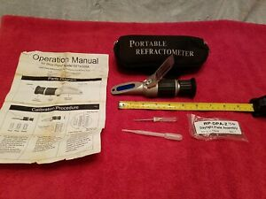 Snap On Blue Point Eeta305a Refractometer Antifreeze And Battery Fluid Tester