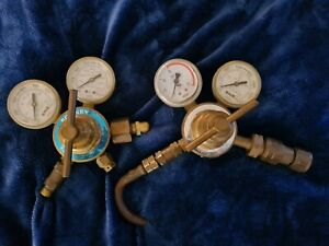 Forney Oxygen And Acetylene Regulators Heavy Duty Victor Style Free Shipping