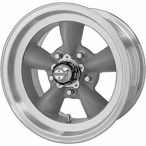 4 15x7 Gray American Racing Vintage Torq Thrust D Wheel 5x4 75 5x120 65 6
