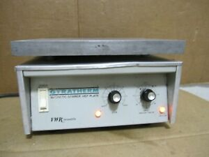 Vwr Scientific Model 58922 054 Magnetic Stirrer hot Plate