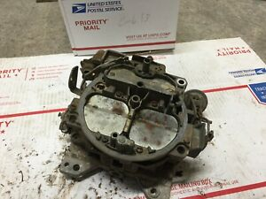Quadrajet Carburetor Carb Made In Usa 4 Barrel 7043202 E3 Fs 1973 Corvette Chevy
