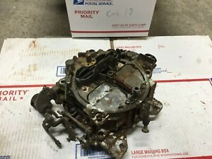 Quadrajet Carburetor Carb Made In Usa 4 Barrel 17058202 0728 Bhr Chevrolet 1978