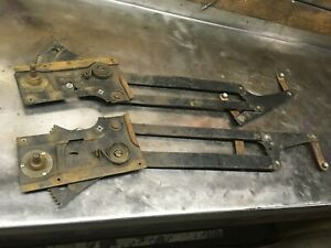 1950 And 1951 Ford Car Left And Right Window Regulators