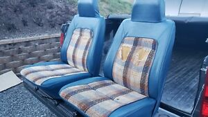 1980 79 83 Toyota Hilux Pickup Truck Hilux Bucket Seats Blue