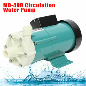 Md40r Circulation Water Pump Micro Magnetic Drive Industrial Chemical Water Pump