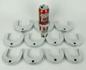 11pc Set Nos Snap on 3 8 Drive Open Ended Crowfoot Crowsfoot 2 1 8 To 2 15 16
