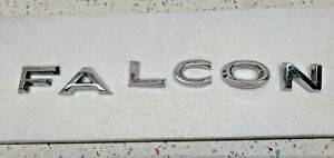 1964 65 Ford Falcon Trunk Letter Emblems