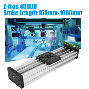 3d Printer Linear Sliding Table Z Axis Lead Screw T8 C beam Cnc 250mm To 1000mm
