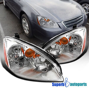 For 2002 2004 Nissan Altima Headlights Left Righ Replacement