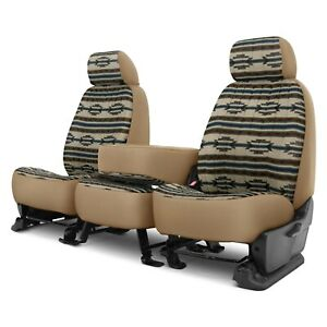 For Chevy C3500 95 00 Southwest Sierra 1st Row Tan Custom Seat Covers
