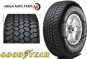 1 Goodyear Wrangler All Terrain Adventure With Kevlar 255 70r16 111t Owl Tires