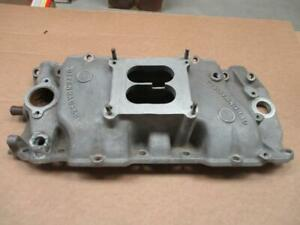 Vintage Offenhauser 360 Bb Chevy Rare Oval Port Intake Manifold 396 427 454