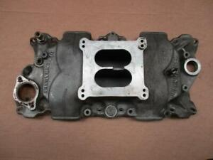 Vintage Offenhauser 360 Sb Chevy Intake Manifold 283 327 350