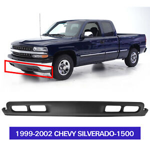 Front Bumper Lower Air Dam Deflector Valance W Fog Hole For 1999 2002 Silverado
