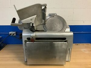 Commercial Restaurant Globe Automatic Deli Meat Slicer Slicing Machine 720