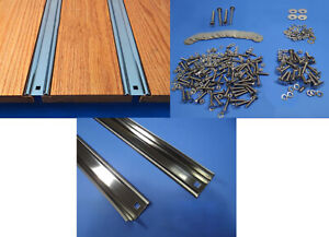 Bed Strips Kit Chevy 1960 1966 Stainless Steel Short Stepside Truck Wood