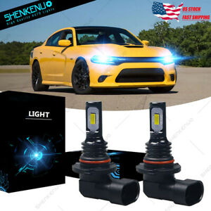 For Dodge Charger 2016 2021 Hk 9005 Ice Blue Hi low Beam Led Headlight Bulb Qty2