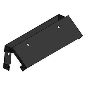 Westin Stainless Steel Black Powder Coat Winch Tray License Plate Relocator