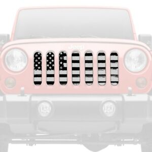 For Jeep Wrangler 18 20 1 Pc Bold Victory Style Perforated Main Grille