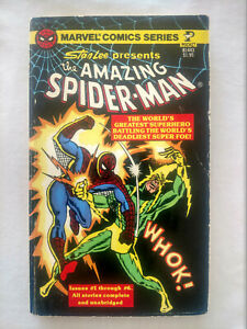 VINTAGE 1977 THE AMAZING SPIDER MAN STAN LEE POCKET COMICS MARVEL $16.95