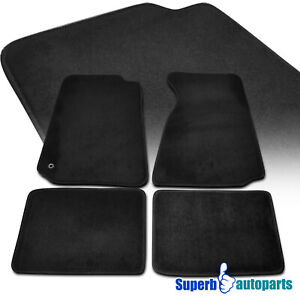 For 1994 2004 Ford Mustang Gt Floor Carpets Mats 4pc Black