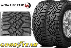 2 Goodyear Wrangler Duratrac 255 70r16 111s All Terrain Tires 50k Mile Warranty
