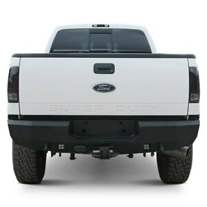 For Ford F 250 Super Duty 99 16 Fortis Full Width Textured Black Rear Hd Bumper