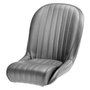Cobra Seats C Rss v gy Roadster Ss Gray Vinyl piping Race Seat