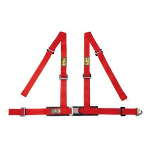 Harnesses 4 point Road 4m Series Street Racing Harnesses Ece Central Push