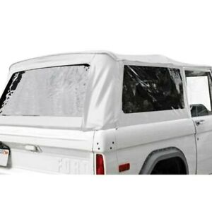 For Ford Bronco 1966 1977 Rampage 98402 White Complete Soft Top