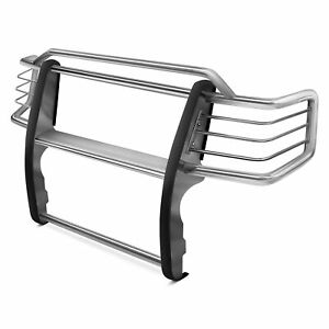 For Jeep Grand Cherokee 11 20 Black Horse Modular Design Polished Grille Guard