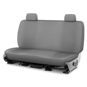 For Ford Crown Victoria 98 11 Genuine Neoprene 2nd Row Gray Custom Seat Covers