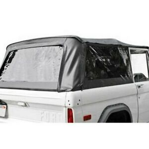 For Ford Bronco 1980 1996 Rampage Black Diamond Complete Soft Top
