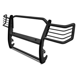 For Jeep Cherokee 1986 2000 Aries 1043 Black 1 piece Design Grille Guard