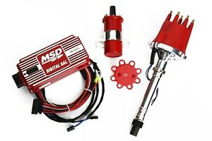 Sbc bbc Msd Ignition 6al Box W Tsp Pro Billet Distributor Coil 6425