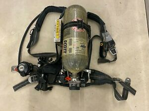 Scott 3 0 Air Pack Scba Harness With 3000 Carbon Tank Ez Flo Regulator