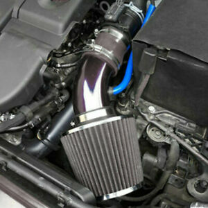 Car Cold Air Intake Filter Induction Set Pipe Power Flow Hose System Accessories Fits 2006 Mazda 3