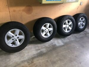 08 Jeep Wrangler Stock Wheels 16 Inch 4 Local San Diego Pick Up