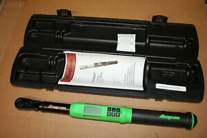 Snap on 3 8 Drive 5 To 125 Ft Lb Techangle Torque Wrench Atech2f125vg