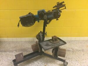 610 Pro Cut On Car Brake Lathe Model 50 610 With Adapters Stand Accessories