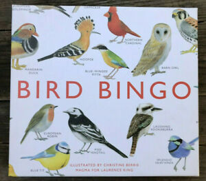 BIRD BINGO Illustrated by Christine Berrie Magma for Laurence King $17.95